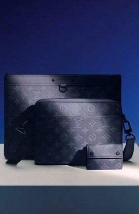 Мужская кожаная сумка duo LOUIS VUITTON темно-синего цвета, арт. M45730 | Фото 2