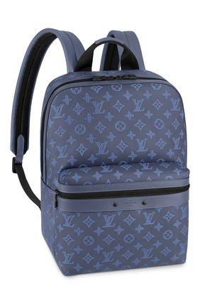 Мужской кожаный рюкзак sprinter LOUIS VUITTON темно-синего цвета, арт. M45728 | Фото 1