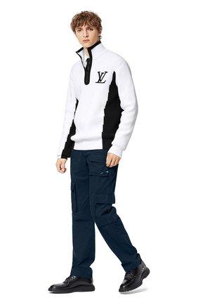 Мужской свитер LOUIS VUITTON белого цвета, арт. 1A8WRZ   Фото 2