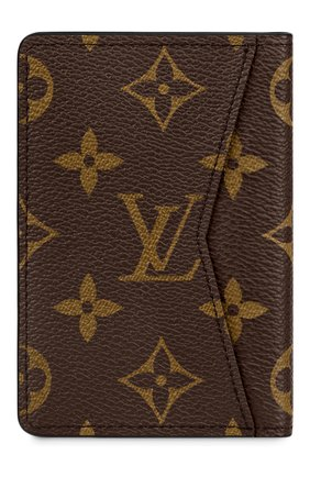 Мужской футляр для кредитных карт LOUIS VUITTON коричневого цвета, арт. M45787 | Фото 2