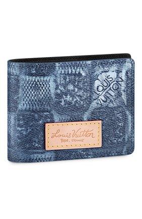 Мужской портмоне multiple LOUIS VUITTON синего цвета, арт. N50058 | Фото 1