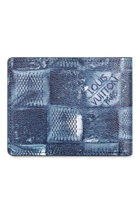 Мужской портмоне multiple LOUIS VUITTON синего цвета, арт. N50058 | Фото 2