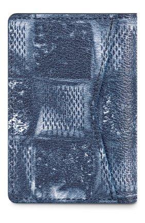 Мужской футляр для кредитных карт LOUIS VUITTON синего цвета, арт. N60465 | Фото 2