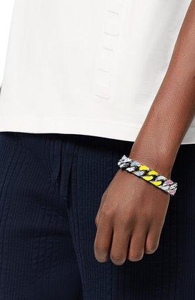 Мужской браслет chain links LOUIS VUITTON разноцветного цвета, арт. MP3066 | Фото 2