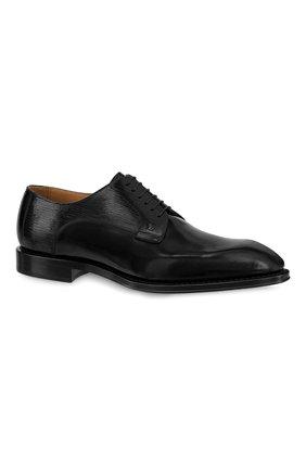 Мужские кожаные дерби kensington LOUIS VUITTON черного цвета, арт. 1A8WCB | Фото 1 (Стили: Классический)