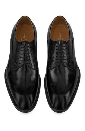 Мужские кожаные дерби kensington LOUIS VUITTON черного цвета, арт. 1A8WCB | Фото 2 (Стили: Классический)