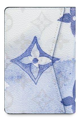 Мужской футляр для кредитных карт LOUIS VUITTON синего цвета, арт. M80455 | Фото 2