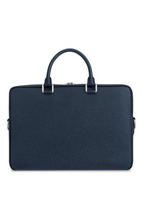 Мужская кожаная сумка для ноутбука porte-documents business LOUIS VUITTON синего цвета, арт. M33442 | Фото 2
