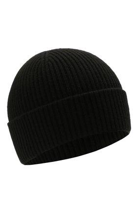 Мужская кашемировая шапка GIORGIO ARMANI черного цвета, арт. 747303/1A505 | Фото 1