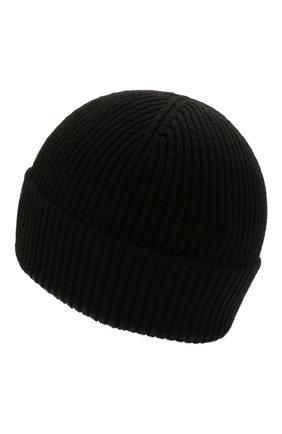 Мужская кашемировая шапка GIORGIO ARMANI черного цвета, арт. 747303/1A505 | Фото 2