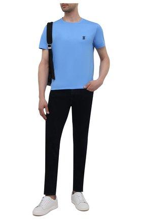 Мужские джинсы 7 FOR ALL MANKIND темно-синего цвета, арт. JSMXB780LB | Фото 2
