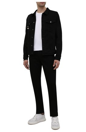 Мужские джинсы 7 FOR ALL MANKIND черного цвета, арт. JSMSB820LR | Фото 2