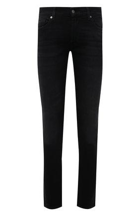 Мужские джинсы 7 FOR ALL MANKIND черного цвета, арт. JSD4A490T0 | Фото 1