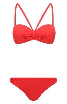 Женский раздельный купальник GOTTEX красного цвета, арт. 21BEB05-21BEP04   Фото 1