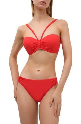 Женский раздельный купальник GOTTEX красного цвета, арт. 21BEB05-21BEP04   Фото 2