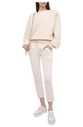 Женские брюки FRAME DENIM белого цвета, арт. BBTMP999   Фото 2