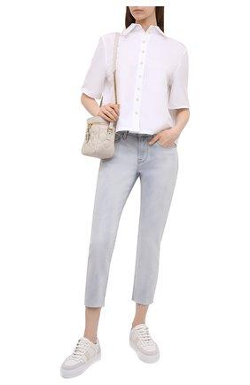 Женские джинсы FRAME DENIM голубого цвета, арт. LGJCRA779   Фото 2