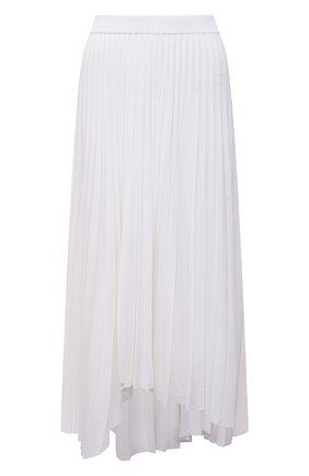 Женская плиссированная юбка MRZ белого цвета, арт. S21-0075 | Фото 1