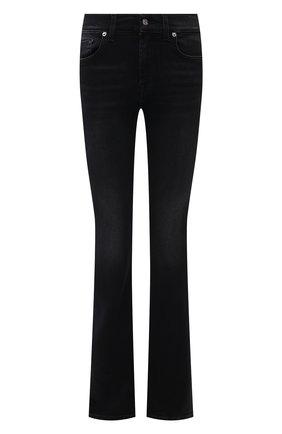Женские джинсы 7 FOR ALL MANKIND черного цвета, арт. JSWBA490KH | Фото 1