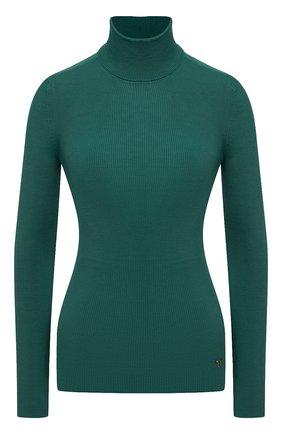 Женская водолазка из кашемира и шелка TOM FORD зеленого цвета, арт. MAK840-YAX176 | Фото 1 (Материал внешний: Шелк, Шерсть, Кашемир; Длина (для топов): Стандартные; Стили: Кэжуэл; Рукава: Длинные; Женское Кросс-КТ: Водолазка-одежда)
