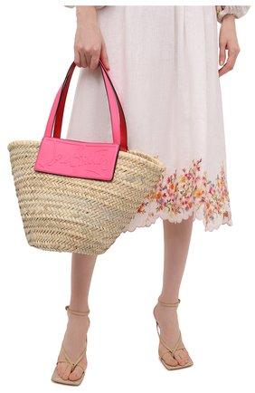Женская сумка-тоут loubishore CHRISTIAN LOUBOUTIN розового цвета, арт. 1215220/L0UBISH0RE   Фото 2