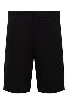 Мужские хлопковые шорты BOGNER темно-синего цвета, арт. 18173753 | Фото 1