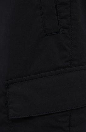 Мужские хлопковые шорты BOGNER темно-синего цвета, арт. 18173753 | Фото 5 (Мужское Кросс-КТ: Шорты-одежда; Принт: Без принта; Длина Шорты М: Ниже колена; Материал внешний: Хлопок; Стили: Спорт-шик)