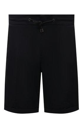Мужские шорты BOGNER черного цвета, арт. 18074283 | Фото 1 (Материал внешний: Синтетический материал; Длина Шорты М: До колена; Мужское Кросс-КТ: Шорты-одежда; Принт: Без принта; Стили: Спорт-шик)