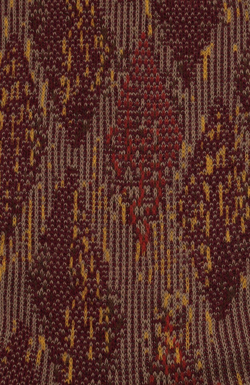 Мужские хлопковые носки FALKE коричневого цвета, арт. 12441   Фото 2 (Кросс-КТ: бельё; Материал внешний: Хлопок)