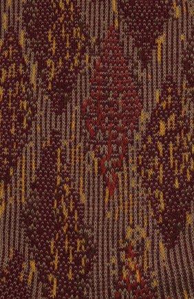 Мужские хлопковые носки FALKE коричневого цвета, арт. 12441 | Фото 2 (Материал внешний: Хлопок; Кросс-КТ: бельё)
