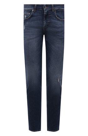 Мужские джинсы 7 FOR ALL MANKIND синего цвета, арт. JSMXU940TC | Фото 1