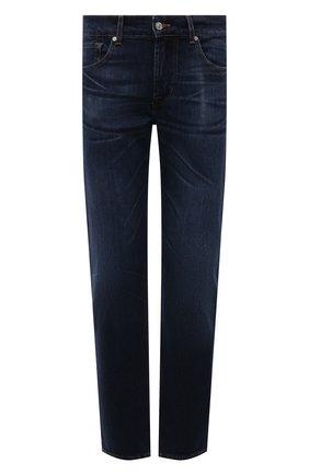 Мужские джинсы 7 FOR ALL MANKIND темно-синего цвета, арт. JSMSL390DE | Фото 1