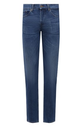 Мужские джинсы 7 FOR ALL MANKIND синего цвета, арт. JSMSK850GB | Фото 1