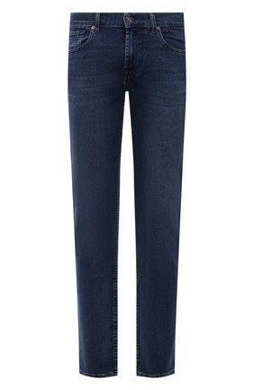 Мужские джинсы 7 FOR ALL MANKIND синего цвета, арт. JSMSB28RDB | Фото 1