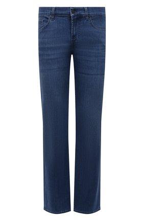 Мужские джинсы 7 FOR ALL MANKIND синего цвета, арт. JSMNB800LM | Фото 1