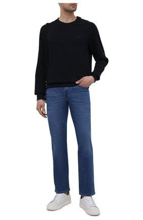 Мужские джинсы 7 FOR ALL MANKIND синего цвета, арт. JSMNB800LM | Фото 2