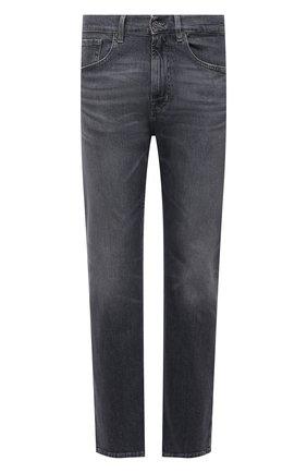 Мужские джинсы 7 FOR ALL MANKIND серого цвета, арт. JS00R780WG | Фото 1