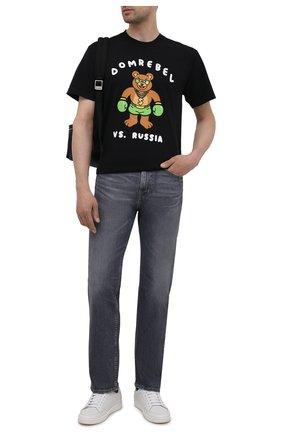 Мужские джинсы 7 FOR ALL MANKIND серого цвета, арт. JS00R780WG | Фото 2