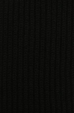 Мужской кашемировый шарф MOORER черного цвета, арт. S0VANA-CWS/M0USC100003-TEPA177   Фото 2