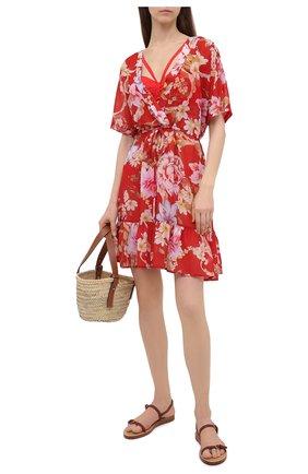 Женское платье GOTTEX красного цвета, арт. 21HI694   Фото 2