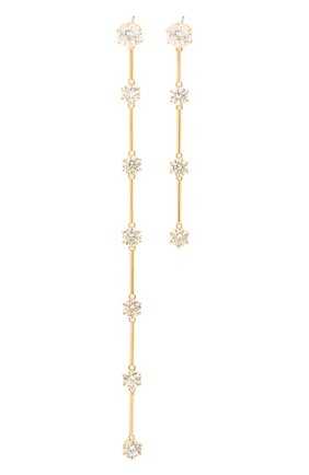 Женские серьги constella SWAROVSKI золотого цвета, арт. 5600490 | Фото 1
