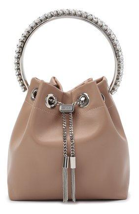 Женская сумка bon bon JIMMY CHOO светло-розового цвета, арт. B0N B0N/NAZ | Фото 1