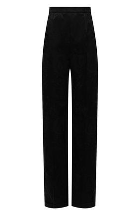 Женские брюки SAINT LAURENT черного цвета, арт. 655046/Y234T   Фото 1
