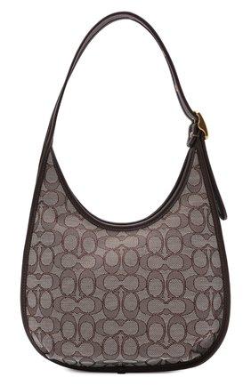 Женская сумка ergo COACH коричневого цвета, арт. C2588   Фото 1