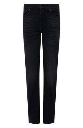 Женские джинсы 7 FOR ALL MANKIND черного цвета, арт. JSDTR850UP   Фото 1