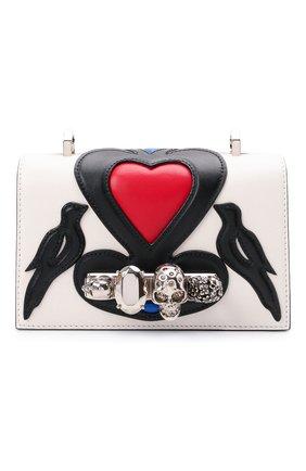 Женская сумка jewelled satchel mini ALEXANDER MCQUEEN разноцветного цвета, арт. 653134/D78BB | Фото 1
