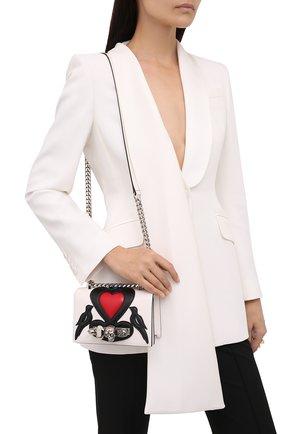 Женская сумка jewelled satchel mini ALEXANDER MCQUEEN разноцветного цвета, арт. 653134/D78BB | Фото 2