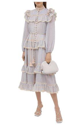 Женское платье ZIMMERMANN синего цвета, арт. 1377DALI   Фото 2