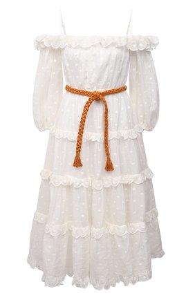 Женское платье ZIMMERMANN белого цвета, арт. 1629DMAE   Фото 1