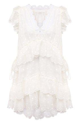 Женское платье ZIMMERMANN белого цвета, арт. 1764DMAE   Фото 1